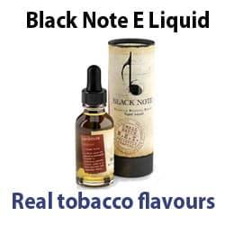Black Note E Liquid Review