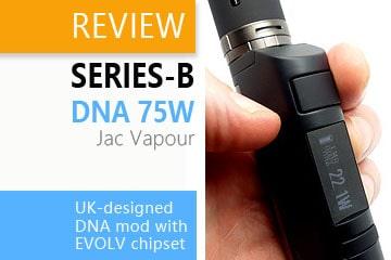 jacvapour series-b dna75